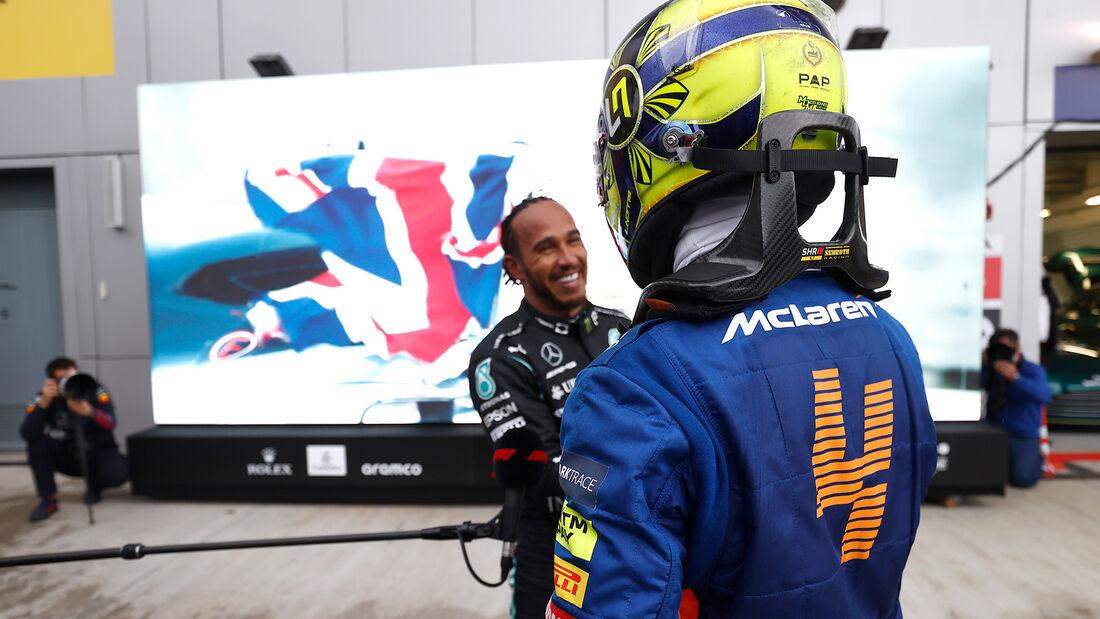 Hamilton - Norris - GP Russland 2021 - Sotschi