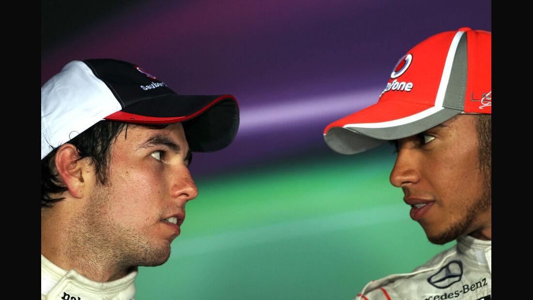 Hamilton Perez GP Italien 2012