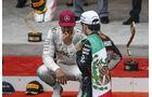 Hamilton & Perez - GP Monaco 2016