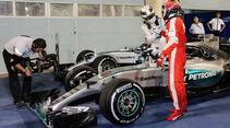 Hamilton & Räikkönen - Formel 1 - GP Bahrain 2015