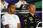 Hamilton & Räikkönen - Formel 1 - GP Ungarn - 25. Juli 2012