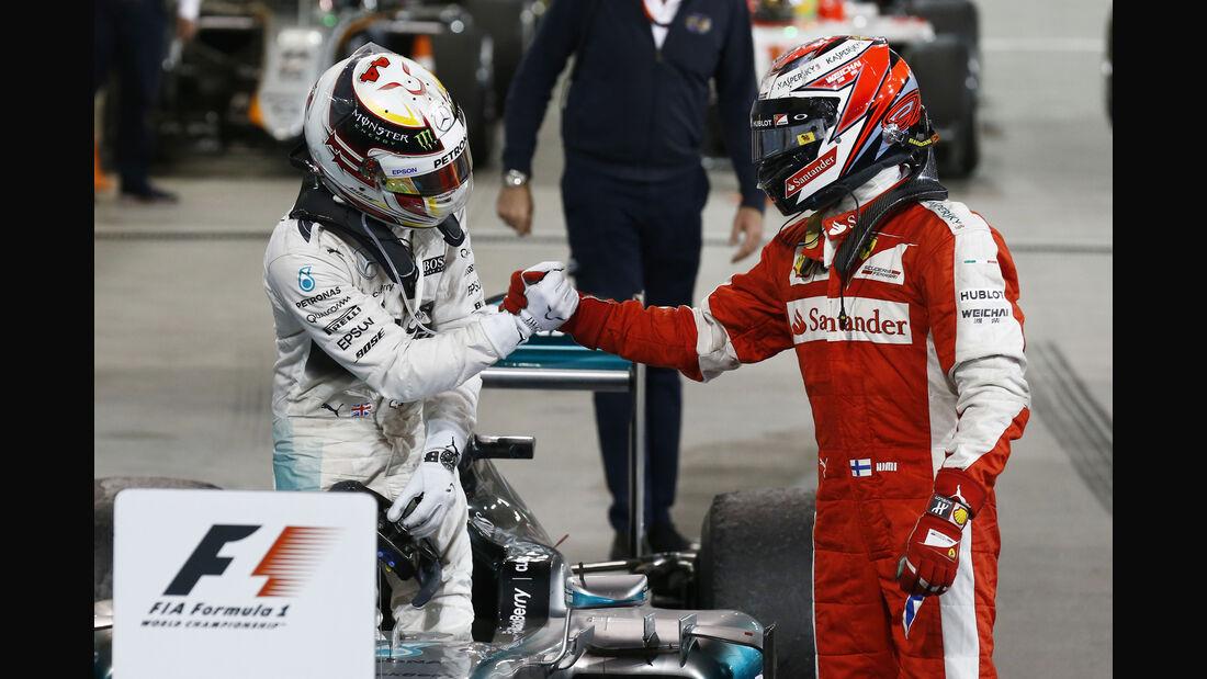Hamilton & Räikkönen - GP Bahrain 2015
