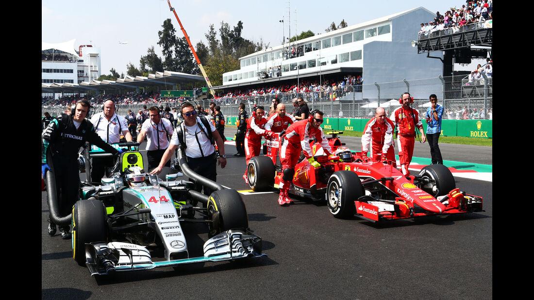 Hamilton & Räikkönen - GP Mexiko 2015