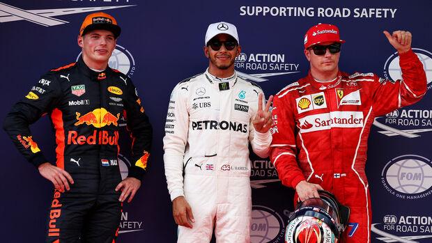 Hamilton, Räikkönen & Verstappen - GP Malaysia 2017