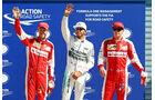 Hamilton - Räikkönen - Vettel - GP Italien - Monza Qualifying - 5.9.2015