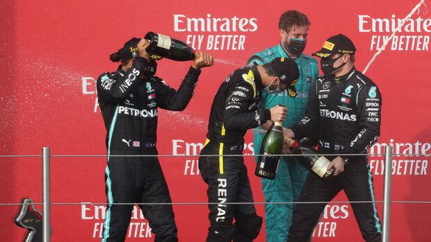 Hamilton - Ricciardo - Bottas - GP Emilia Romagna 2020 - Imola