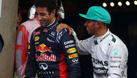 Hamilton & Ricciardo - Formel 1 - GP China - Shanghai - 19. April 2014