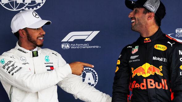 Hamilton & Ricciardo - Formel 1 - GP Mexiko - 27. Oktober 2018