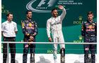 Hamilton - Ricciardo - Verstappen - GP Deutschland 2016 - Hockenheim