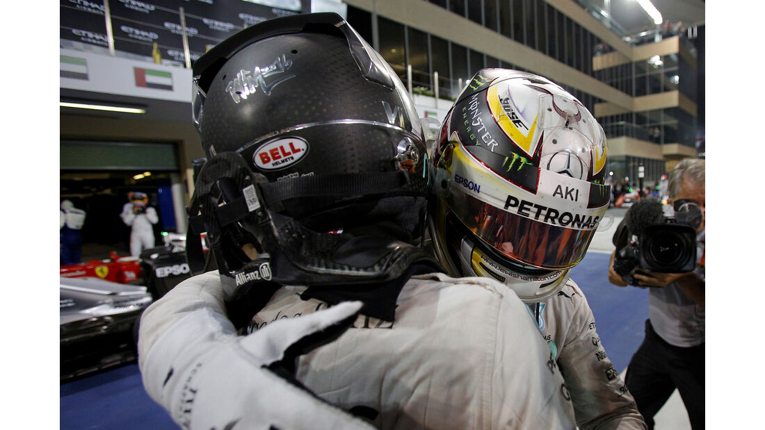 Hamilton & Rosberg - Formel 1 - GP Abu Dhabi 2016