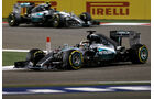 Hamilton & Rosberg - Formel 1 - GP Bahrain 2015