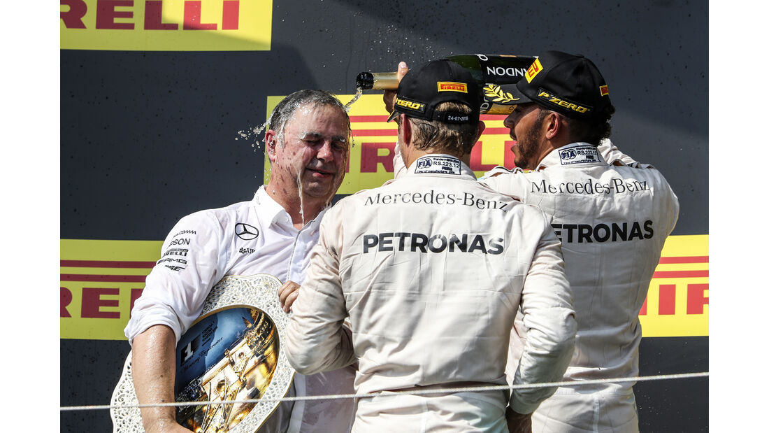 Hamilton & Rosberg - Formel 1 - GP Ungarn 2016