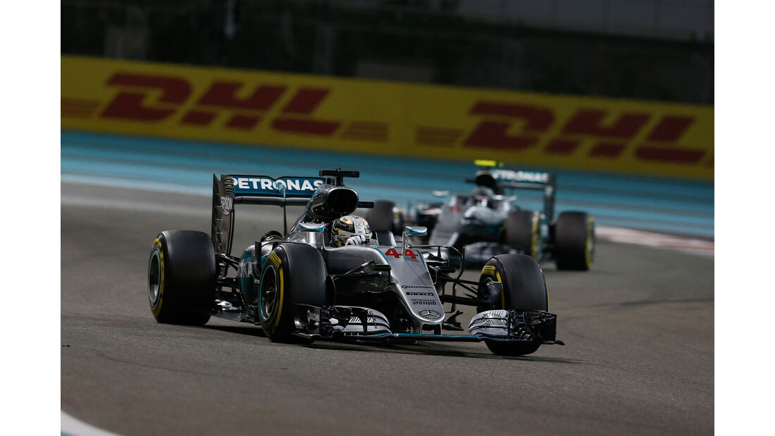 Hamilton & Rosberg - GP Abu Dhabi 2016