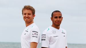 Hamilton Rosberg GP Australien 2013