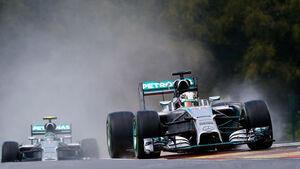 Hamilton & Rosberg - GP Belgien 2014