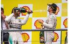 Hamilton & Rosberg - GP Belgien 2015