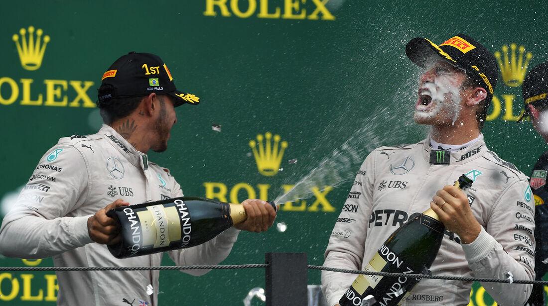 Hamilton & Rosberg - GP Brasilien 2016