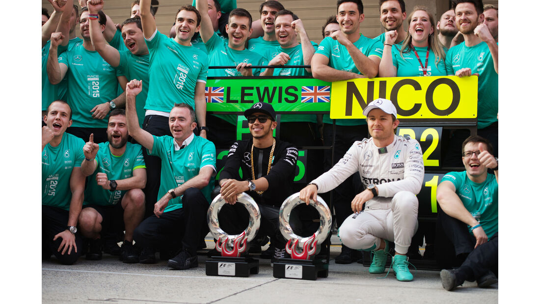 Hamilton & Rosberg - GP China 2015
