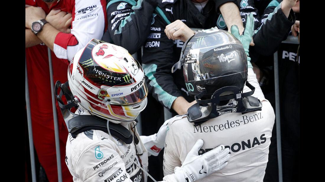 Hamilton & Rosberg - GP Japan 2015