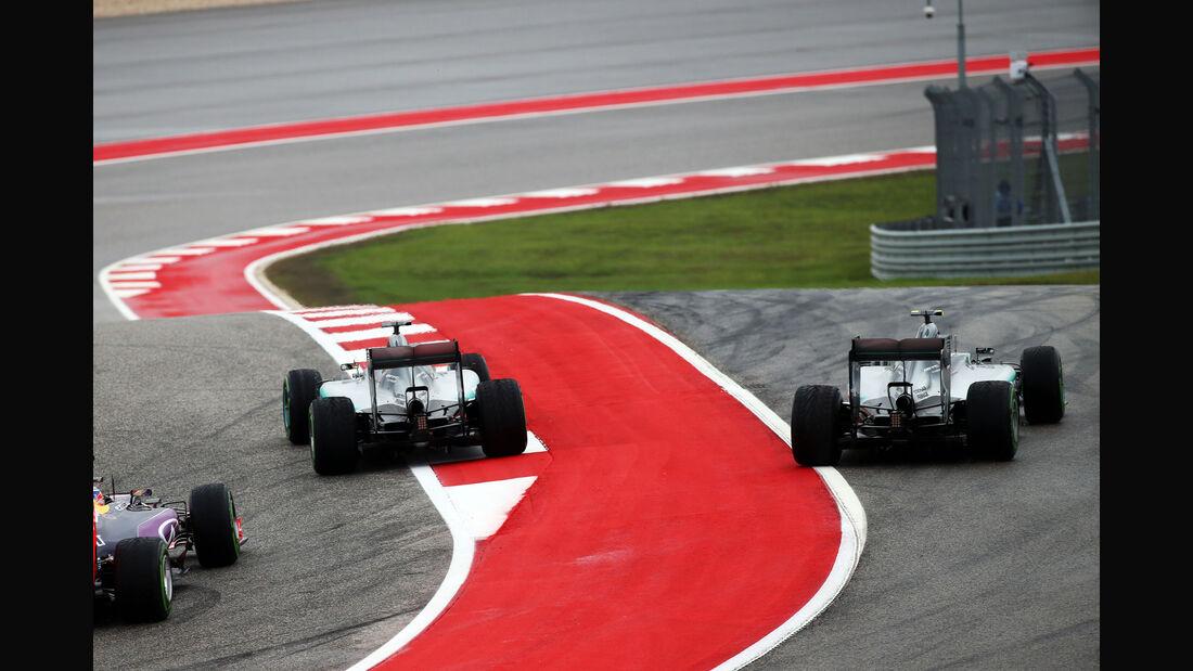 Hamilton & Rosberg - GP USA 2015