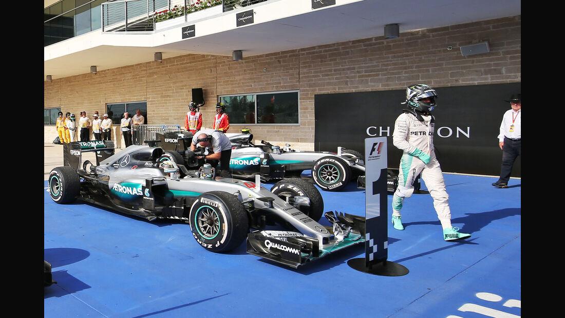 Hamilton & Rosberg - GP USA 2016