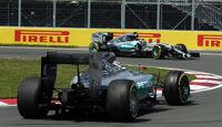Hamilton & Rosberg - Mercedes - Formel 1 - GP Kanada - Montreal - 5. Juni 2015