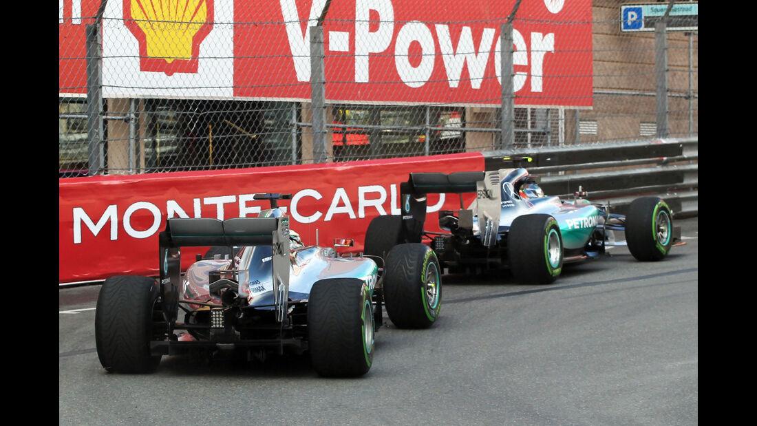 Hamilton & Rosberg - Mercedes - Formel 1 - GP Monaco - 21. Mai 2015