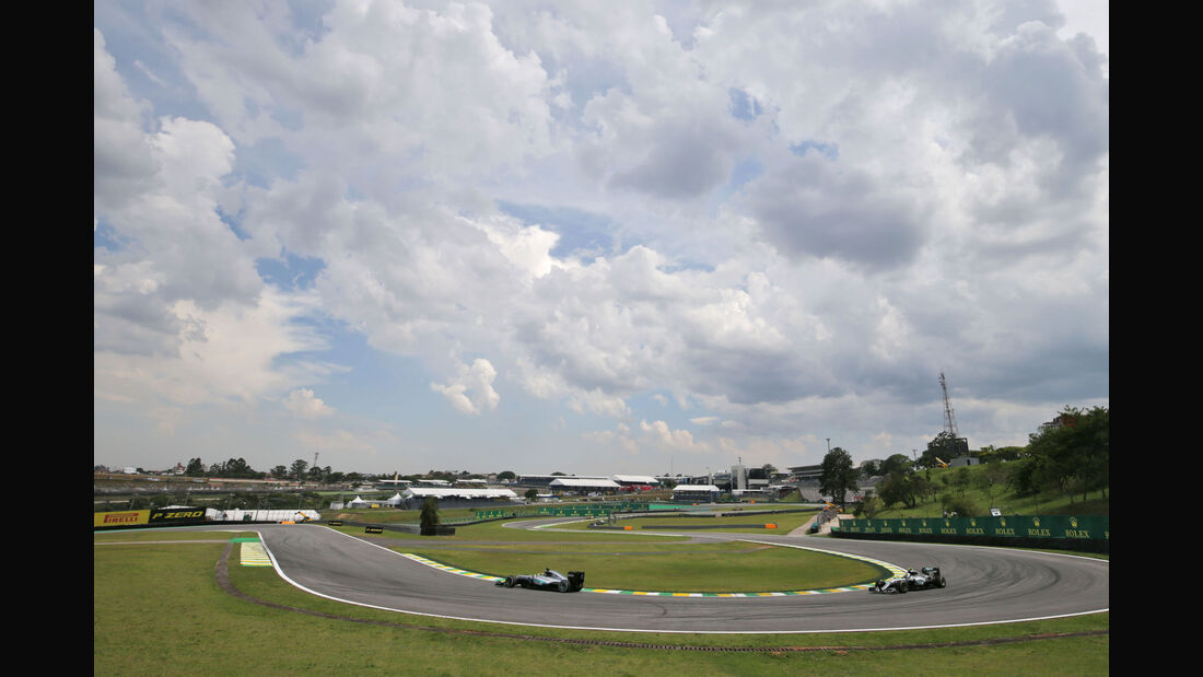 Hamilton - Rosberg - Mercedes - GP Brasilien - Interlagos - Freitag - 11.11.2016