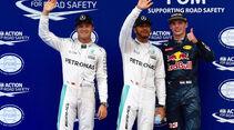 Hamilton - Rosberg - Verstappen - Formel 1 - GP Malaysia - Qualifying - 1. Oktober 2016