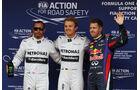 Hamilton, Rosberg & Vettel - Formel 1 - GP Spanien - 11. Mai 2013