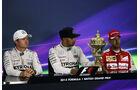 Hamilton - Rosberg - Vettel - GP England - Silverstone - Rennen - Sonntag - 5.7.2015