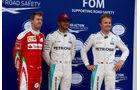 Hamilton - Rosberg - Vettel - GP Kanada 2016 - Montreal - Qualifying