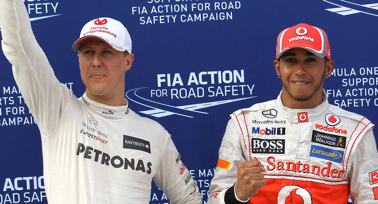 Hamilton Schumacher  2012