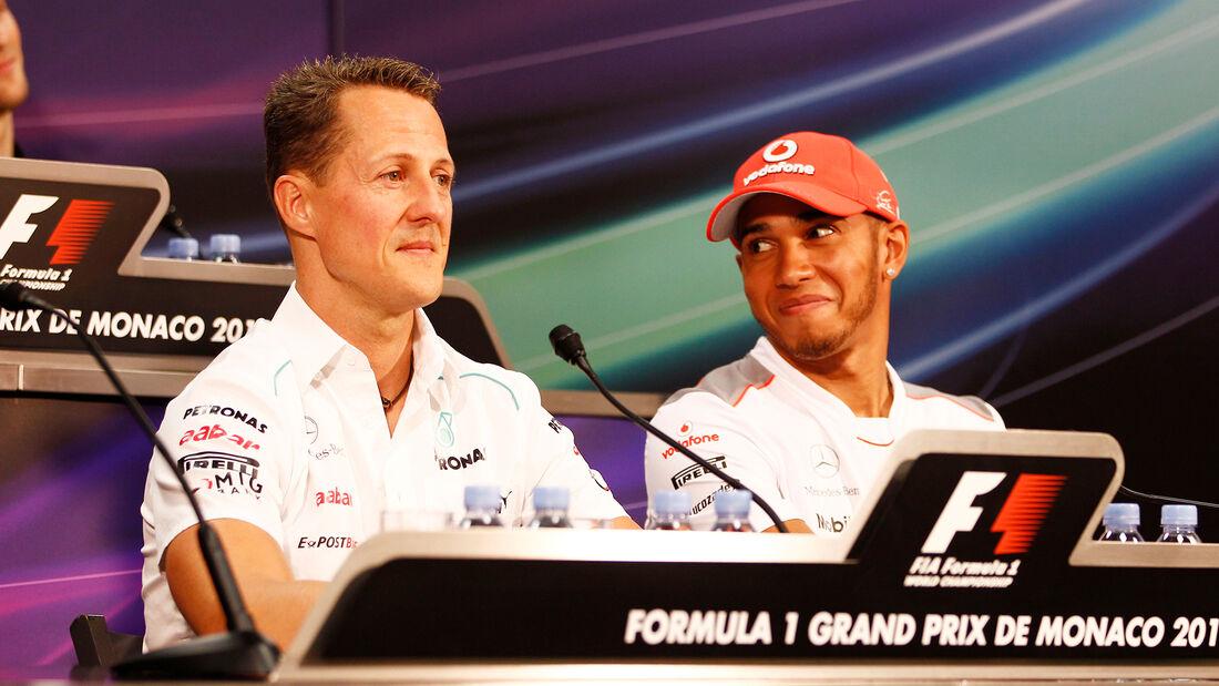 Hamilton & Schumacher - GP Monaco 2012