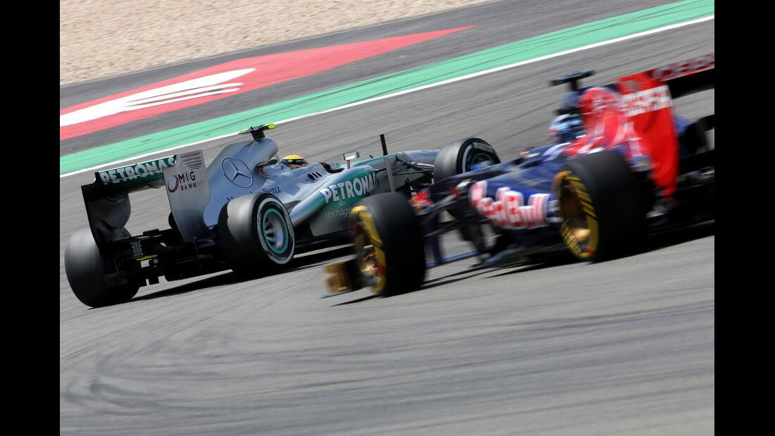 Hamilton & Vergne - Formel 1 - GP Deutschland - 6. Juli 2013