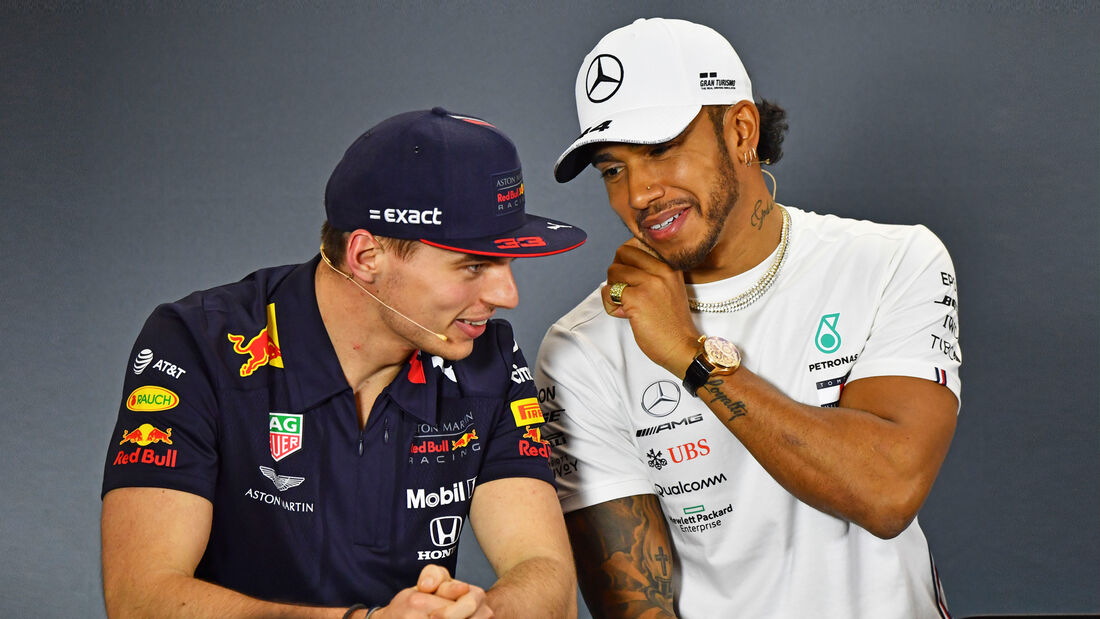 Hamilton & Verstappen - F1 - 2019