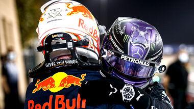 Hamilton - Verstappen - Formel 1 - GP Bahrain 2021 - Rennen