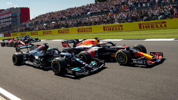 Hamilton & Verstappen - Formel 1 - GP England 2021
