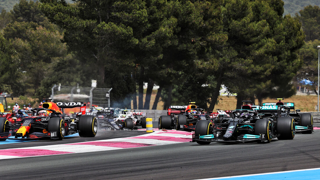 Hamilton & Verstappen - Formel 1 - GP Frankreich 2021
