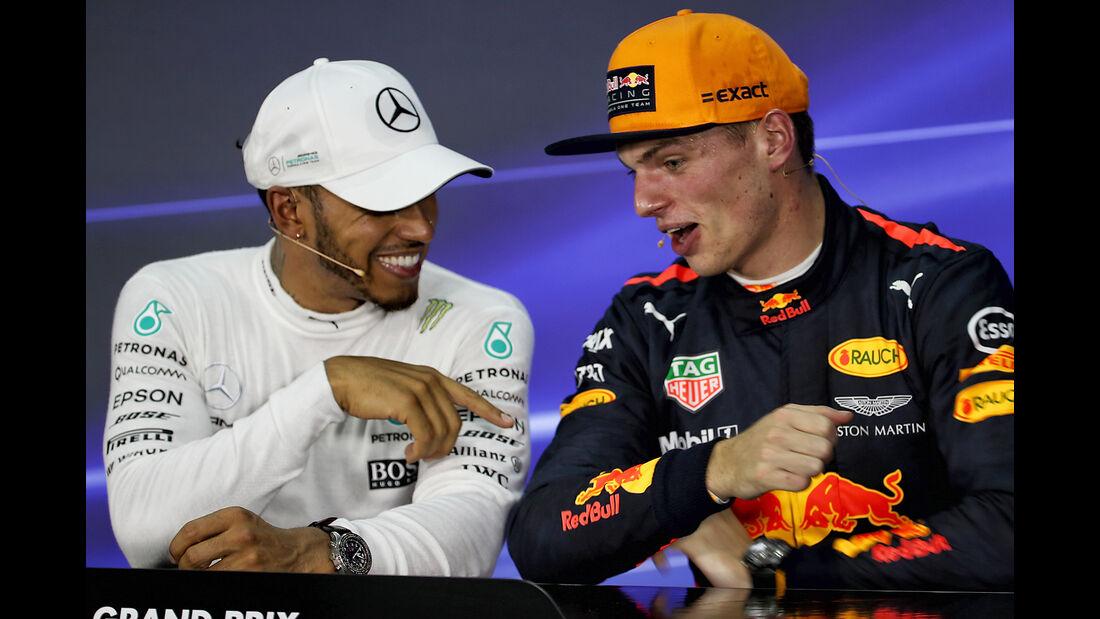 Hamilton & Verstappen - Formel 1 - GP Malaysia - Sepang - 30. September 2017