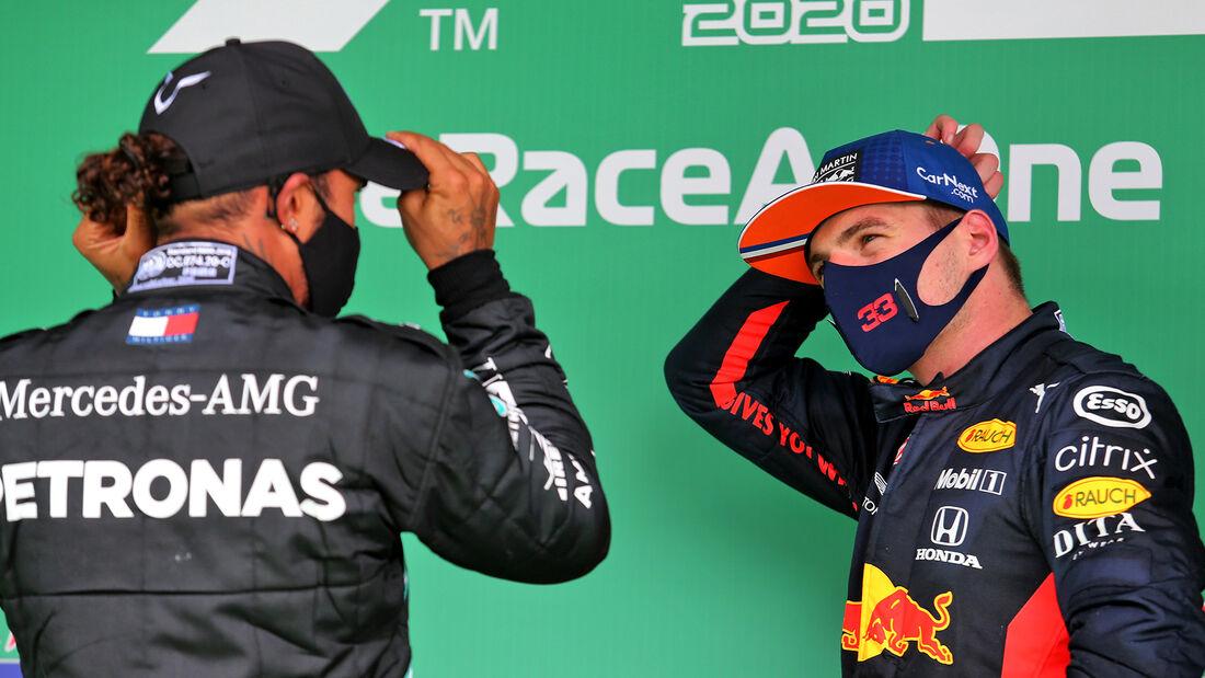 Hamilton & Verstappen - Formel 1 - GP Portugal 2020