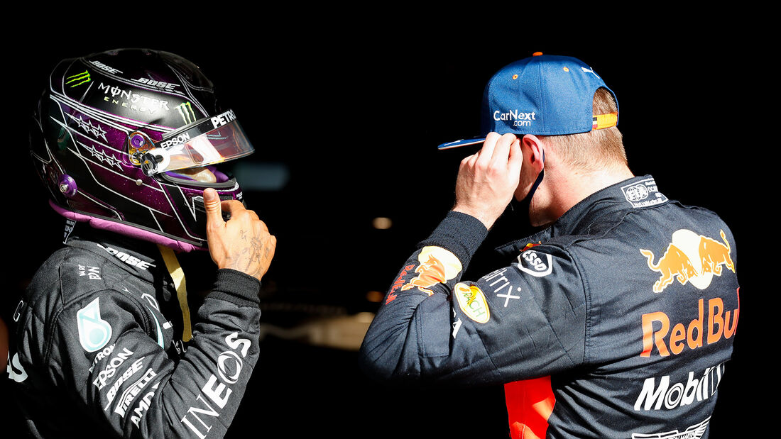 Hamilton & Verstappen - Formel 1 - GP Portugal - Portimao - 24. Oktober 2020