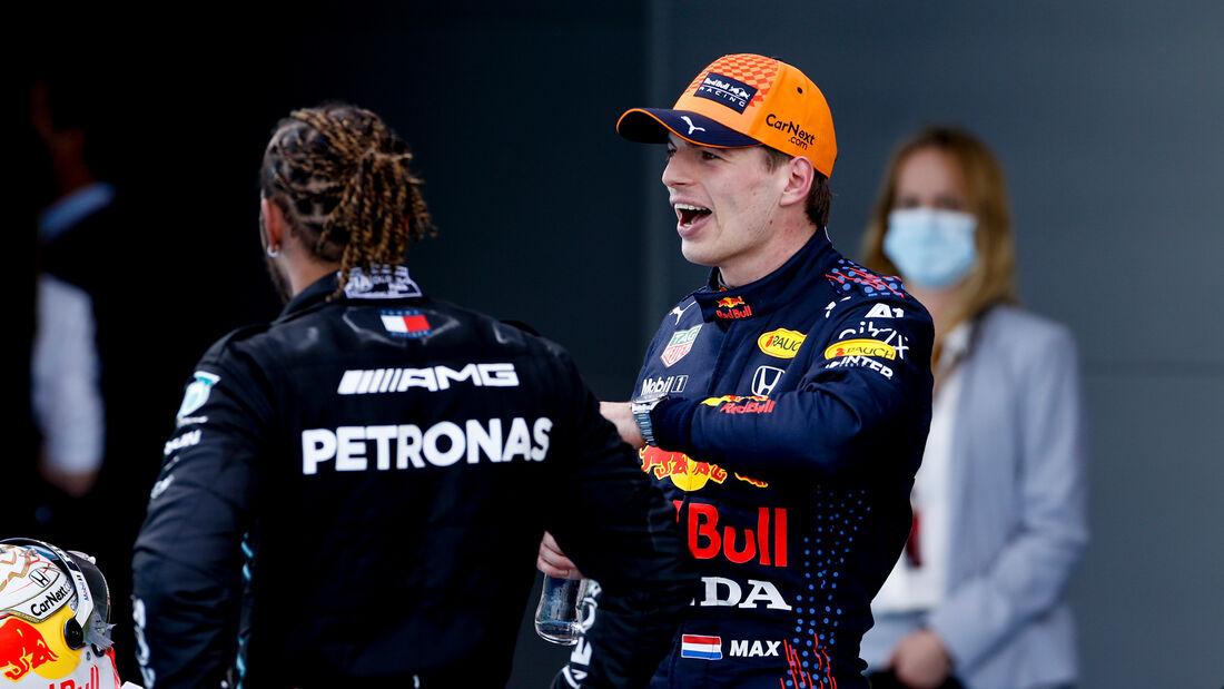Hamilton - Verstappen - Formel 1 - GP Spanien 2021 - Barcelona - Rennen
