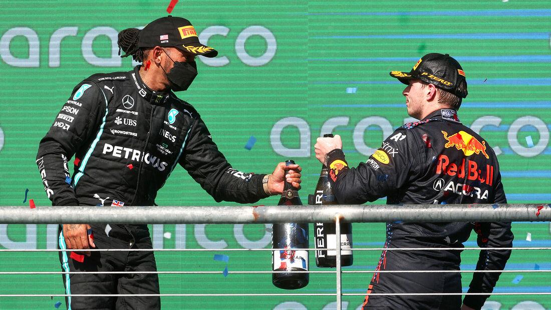 Hamilton & Verstappen - Formel 1 - GP USA 2021