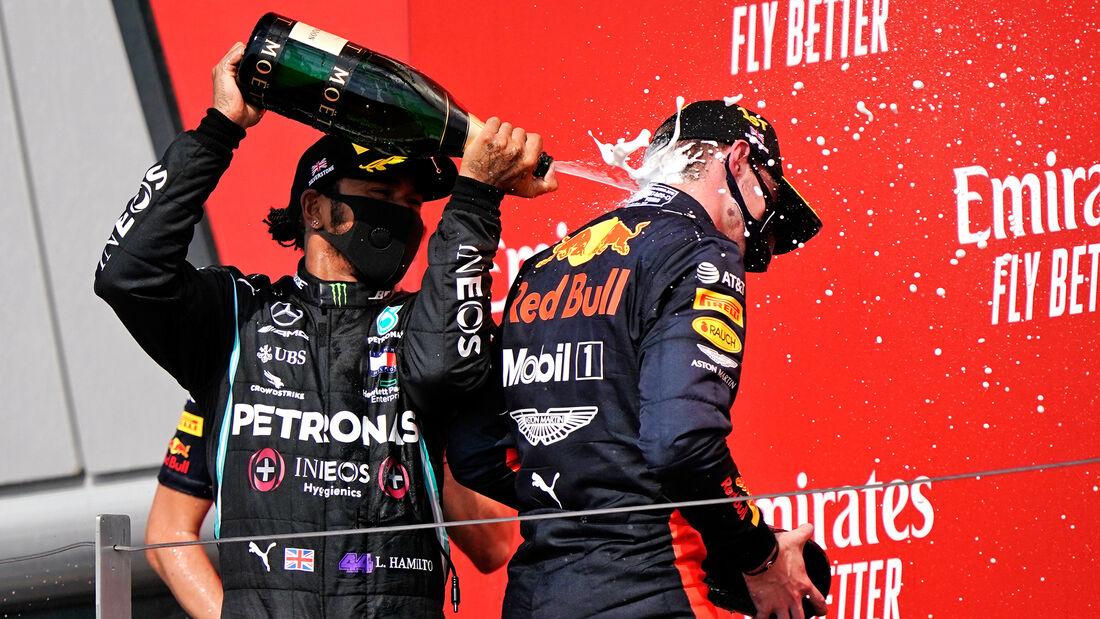 Hamilton - Verstappen - GP 70 Jahre F1 - Silverstone