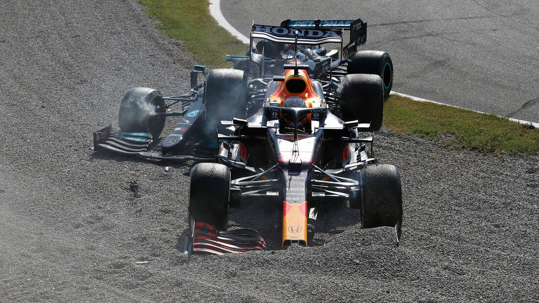 Hamilton & Verstappen - GP Italien - Monza - 2021