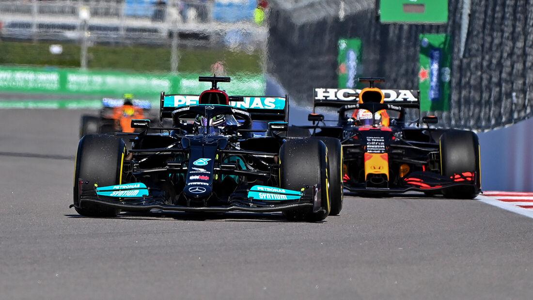 Hamilton & Verstappen - GP Russland 2021