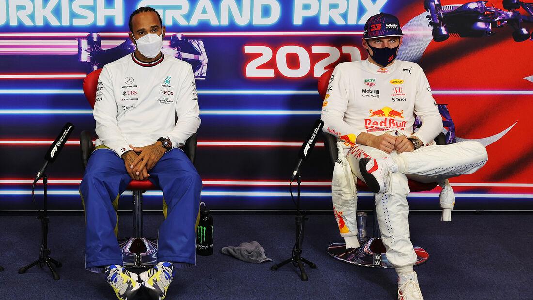 Hamilton & Verstappen - GP Türkei 2021