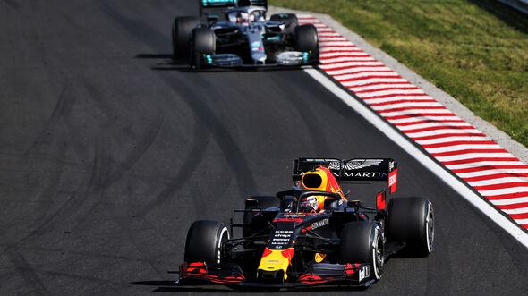 Hamilton & Verstappen - GP Ungarn 2019