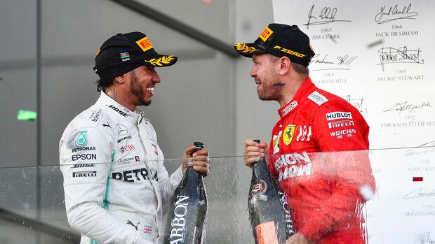 Hamilton & Vettel - Formel 1 - GP Aserbaidschan 2019